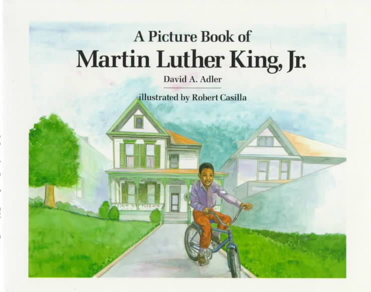 A Picture Book of Martin Luther King, Jr By Adler, David A./ Casilla, Robert (ILT)
